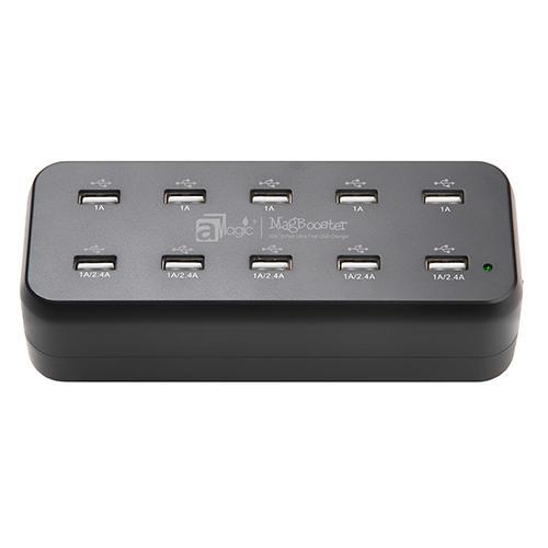 aMagic - MagBooster 10 位排插型USB 充電器 (型號 : APW-AC1012BK)