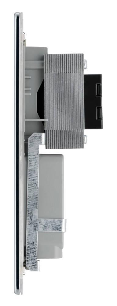 古董黃銅剃須刀插座,經典式固定螺絲電源插座蘇底掣面蘇制面板入牆美式歐式兩腳插座適用於兩腳扁腳或圓腳支援110-115V/220-230V~20VA電器機電署認可BS安全合格報告証書(NAB20B)